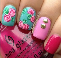 Flower nails!