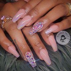 Custom nails design ✨❤️ #allpowder