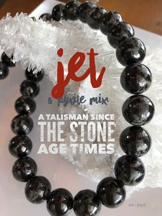 Looking for the perfect Talisman? Jet has been used as a talisman since Stone Age times. It draws out negative energy and alleviates unreasonable fears. Wear Jet to balance mood swings and alleviate depression, bringing stability and balance. Jet | iron pyrite | talisman | protection stones | zen jewelz | ZenJen