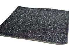 Luxury Placemats Grey Sequin Beads Dinner Mats by AmoreBeaute
