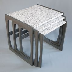 Upcycled G Plan nest of tables