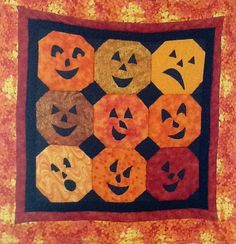 Halloween Quilt Ideas By Jane Sacre