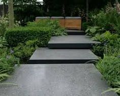 Image result for floating concrete patio