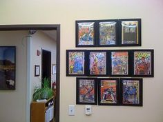 Please see my updated post on the IKEA Comic Book Photo Frame Hack. For a while now I have been wanting to find a way to show off my comic book collection in my office. I had done a lot of s…