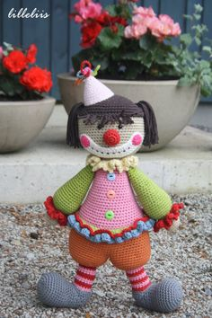 The clown can be a girl too! | lilleliis