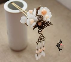 Xuan] [elegant classical costume hairpin hairpin [cloud] Han Chinese clothing cheongsam evening headdress step shake fringed hair accessorie ...