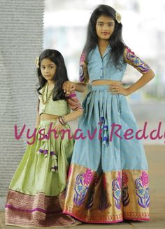52 Ideas Children Fashion 2019 For 2019 Baby Girl Party Dresses, Dresses Kids Girl, Kids Outfits, Girls, Kids Indian Wear, Kids Ethnic Wear, Kids Dress Wear, Kids Gown, Kids Wear
