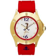 Juicy Couture Rich Girl Red Watch