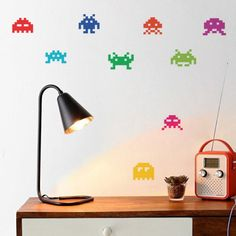 Fancy - Space Invaders Stickers