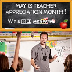 P.E., special ed., librarians, and classroom teachers will love how the Voice Booster helps with classroom management.  Plus, you won't be straining your voice.  Enter to win a FREE Voice Booster.  Enter by 5-31-15. #sponsor