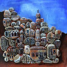 #Mardin #taşresim #pebbleart #artstone #handpainted #paintentedpebbles #paintedrock