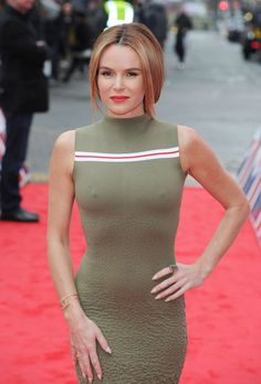 Sexy Pics Of Amanda Holden at Britain's Got Talent Auditions in Birmingham