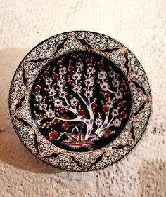 Hand Made Ceramic Plate / Special Hand Made Plate / by Turqu50, $50.00
