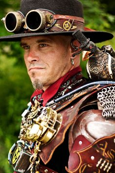 Steampunk Worlds Fair by Anna Fischer, via Flickr