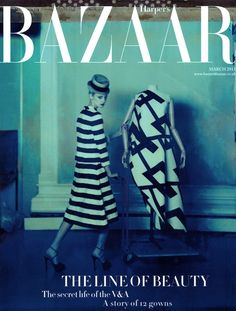Olga Sherer by Cathleen Naundorf for Harper's Bazaar UK March 2013
