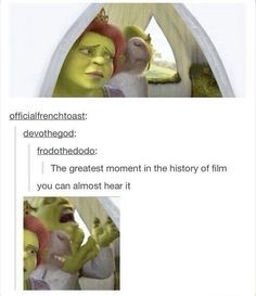 32 Hilarious Shrek Memes - We share because we care. A resource for sharing the latest memes, jokes and real stuff about parenting, relationships, food, and recipes Shrek 2, Shrek Memes, Funny Memes, Jokes, Funny Quotes, Shrek Quotes, Dog Memes, Disney Pixar, Disney And Dreamworks
