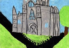 Alice Boyle, age 8, was Highly Commended for her drawing of Down Cathedral