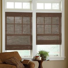 jcp | JCPenney Home™ Custom Bamboo Woven Wood Roman Shade - 44x58 - total $156 (2)