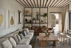 Villa Mandra by K-Studio — MODEDAMOUR Living Area, Living Spaces, Living Room, Living Divani, Patio Grande, Cabinet D Architecture, Architecture Design, Sala Grande, Studio Build