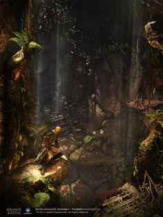 ArtStation - Assassin's Creed 4 Black Flag: Mayan Reel by Tihomir Nyagolov , Tihomir Nyagolov
