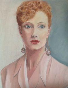Elizabeth Perkins, pastel