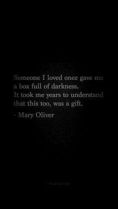 Great Darkness Quote
