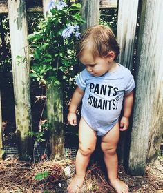 Pants Smants baby onesie - Little Beans Clothing. Hipster baby, baby boy clothes, funny baby onesies, unisex toddler clothing