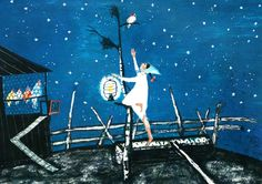 Flurina by Alois Carigiet Children's Book Illustration, Illuminated Manuscript, Childrens Books, Book Art, Fairy Tales, Graffiti, Cute Animals, Animation, Switzerland