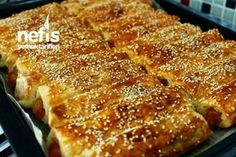 Bleached Soda Borek with Potato - Aparatif - Turkish Turkish Recipes, Italian Recipes, Ethnic Recipes, Fish And Meat, Fish And Seafood, Turkish Sweets, Fresh Fruits And Vegetables, Pastry Recipes, Snacks