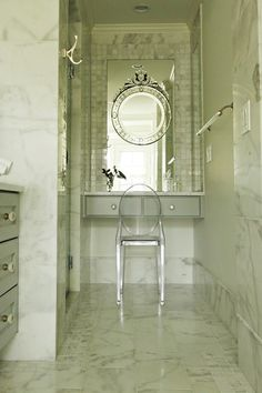 Bathroom Workbook: 5 Ways to Open Up a Windowless Bathroom. (Houzz.com)