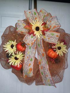 Harvest/Thanksgiving wreath
