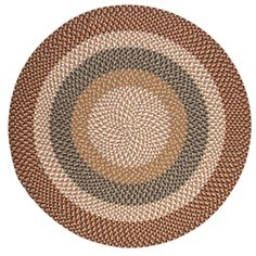 Fabric Multi Natural Area Rug