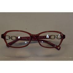 Coach Readers Women's Vanessa Rectangular Reading Glasses +1.25