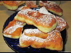 Moje pyszne, łatwe i sprawdzone przepisy :-) : Taratuszki-pulchne faworki na kefirze, szybkie, pyszne idealne na tłusty czwartek+FILM Baking Recipes, Cake Recipes, Dessert Recipes, Sweets Cake, Cookie Desserts, Dessert Drinks, Dessert For Dinner, Breakfast Pastries, Polish Recipes