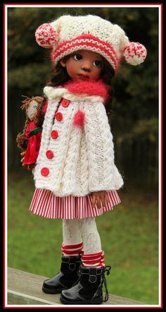 CREAM & RED SWING JACKET SET 7PC FOR TALYSSA YANI MSD KAYE WIGGS DOLLS BYBARBARA #ClothingAccessories