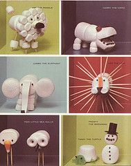Marshmellow animals
