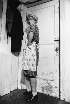 "Cindy Sherman, Untitled Film Still #35, 1979. Gelatin silverprint, 10"" X 8"". Private collection."