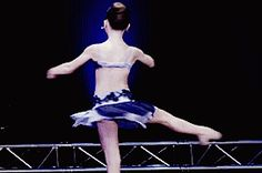 <b>She might just be 12 years old, but this <i>Dance Moms</i> diva and Sia mini me can out-dance anyone.</b>