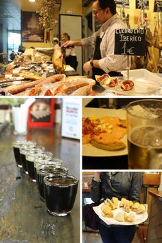Some of the MANY samplings on the Devour Seville Food Tour! 4 hours of food, fun and stories. Best Spanish Food, Spanish Cuisine, My Favorite Food, Favorite Recipes, Tapas Bar, 4 Hours, Ethnic Recipes, Travel Guides, Bridal Shower