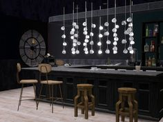 My Sims 3 Blog: Hanging Cups Lamps by Pocci