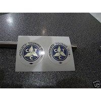 CTC old school decals. 2-off MINT. Not to be missed!