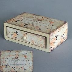 Chouette Fleur Jewellery Box £8.99