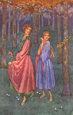 The Twelve Dancing Princesses, Grimm`s Fairy Tales Princess Illustration, Illustration Art, Book Illustrations, 12 Dancing Princesses, Vintage Fairies, Grimm Fairy Tales, English Artists, Fairytale Art, Illustrators