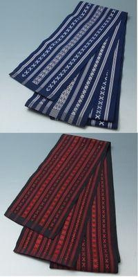 博多織単衣半巾帯2本