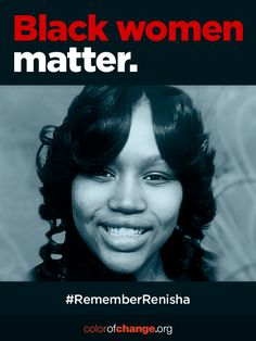 A jury has just found Theodore Wafer guilty on all counts for the murder of 19-year-old Renisha McBride, who was tragically killed when seeking help after a car accident in the Detroit suburb of Dearborn Heights, MI. Wafer's conviction is an incredibly important and rare moment of accountability for violence against Black women. Share the powerful above image to honor Renisha and help grow the movement to end violence against Black women.