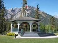 Our wedding location - Banff Gazebo on the Bow River. Banff Alberta, Wedding Locations, Gazebo, Our Wedding, Bow, Outdoor Structures, Memories, River, Mansions