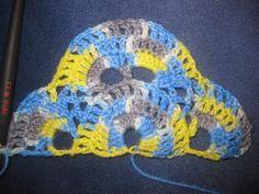 Návod na háčkovanú šatku - Klbkošopa - blog Bandana, Crochet Hats, Beanie, Blog, Fashion, Bandanas, Knitting Hats, Moda, Fashion Styles
