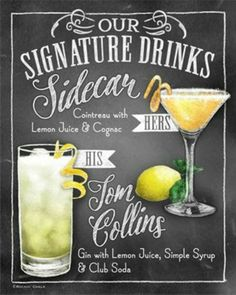 Side Car and Tom Collins