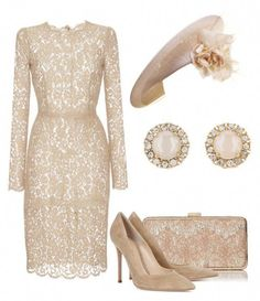 A fashion look from July 2017 featuring pink dress, high heel shoes and beige purse. Browse and shop related looks. Classy Outfits, Chic Outfits, Pretty Outfits, Pretty Dresses, Dress Outfits, Fashion Dresses, Elegant Outfit, Elegant Dresses, Urban Fashion Women