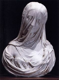 I cant even imagine how this is possible. Amazing! Antonio Corradini, Bust of a Veiled Woman (Puritas), 1717-25.